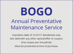 BOGO Annual Preventative Maintenance
