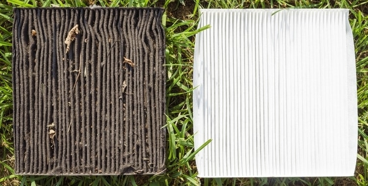 Dirty Air Conditioning Filter
